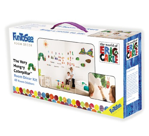 The Very Hungry Caterpillar Nursery And Playroom Wall Sticker Décor Kit Part 38