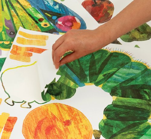 The Very Hungry Caterpillar Nursery And Playroom Wall Sticker Décor Kit Part 20