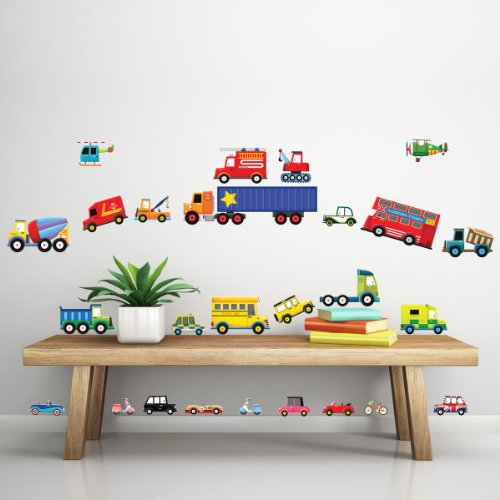 decowall dw 1205 28 transport wall stickers wall decals alf img showing gt transportation wall decals