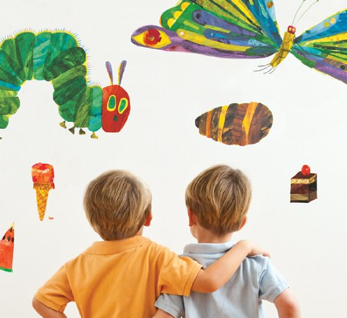 the very hungry caterpillar nursery and playroom wall the very hungry caterpillar by funtosee wallpaper direct