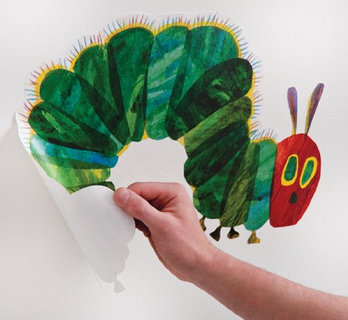 the very hungry caterpillar nursery and playroom wall hungry caterpillar wall decals hungry caterpillar wall