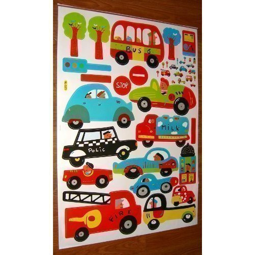 car amp truck large wall stickers for boys bedroom popular wall decal window view buy cheap wall decal window