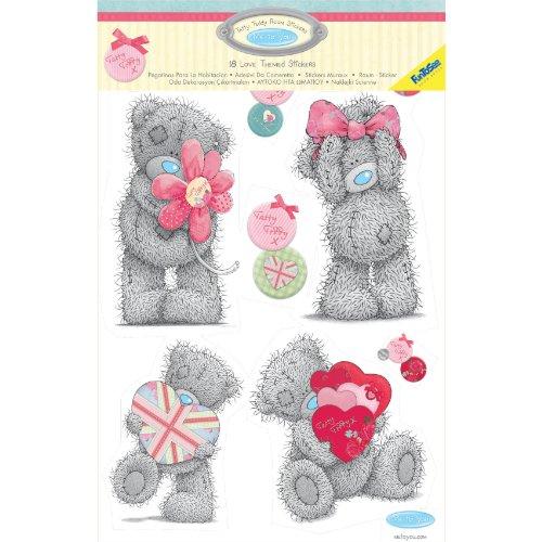 funtosee tatty teddy big bear room stickers walltastic wayfair co uk