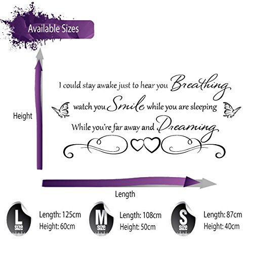 Aerosmith Breathing Quote Vinyl Wall Art Sticker Decal: AEROSMITH BREATHING WALL STICKER